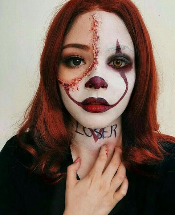 scary makeup ideas easy