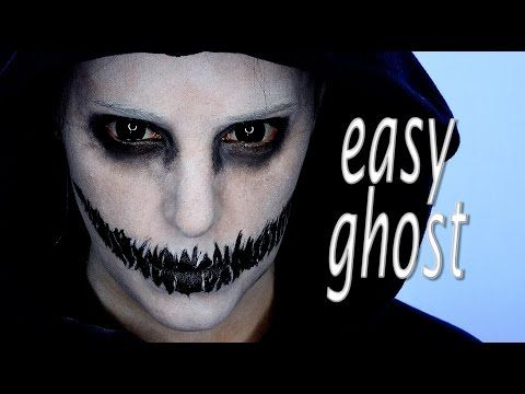 Makeup inspiration : Best scary ghost makeup ideas