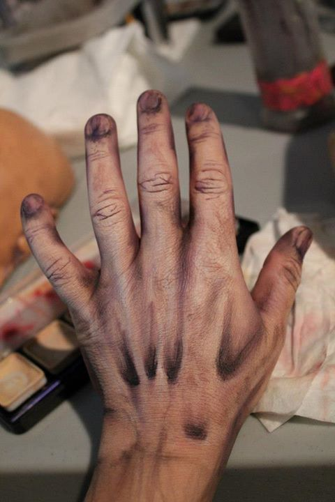 sfx hand makeup ideas