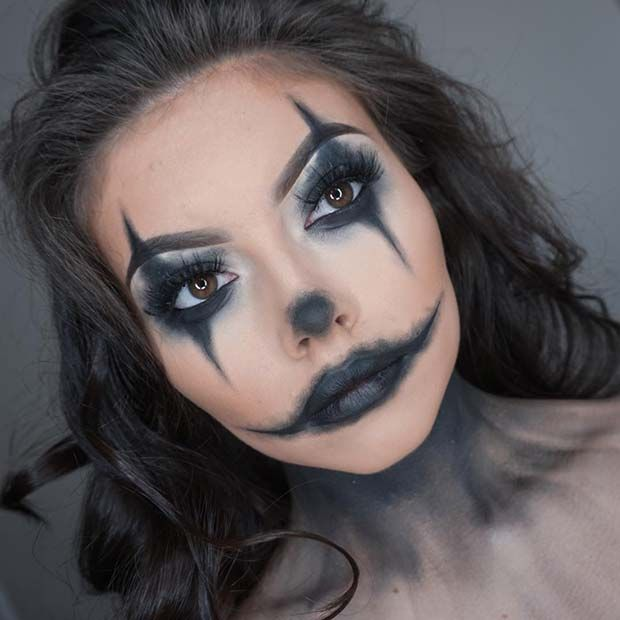 Trends : 25 Best scary clown makeup easy