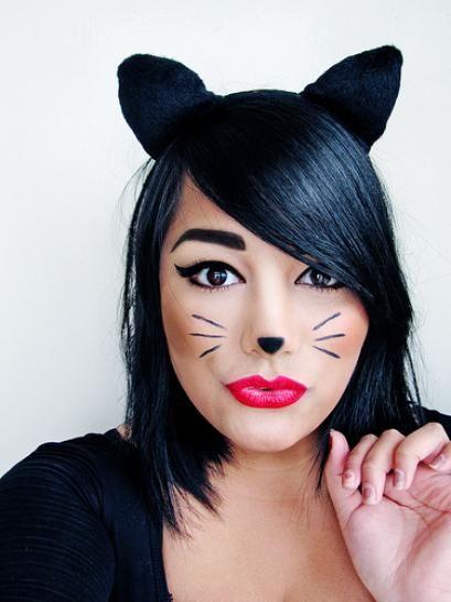 makeup ideas for cat face