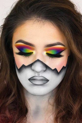 Collection : Best crazy makeup ideas for halloween