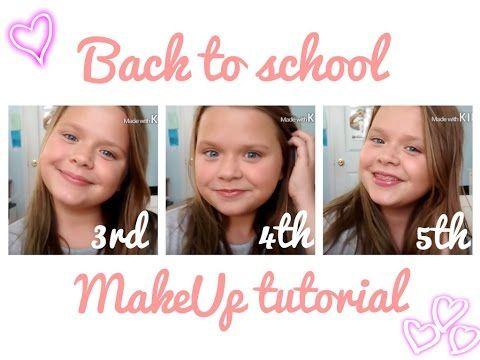 Makeup trends : Best simple makeup ideas back to school