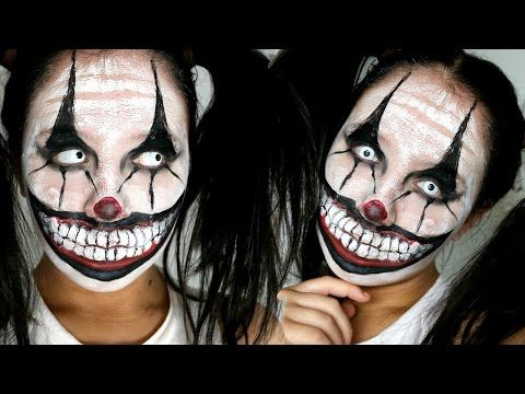 Makeup inspiration : Best scary clown makeup ideas easy