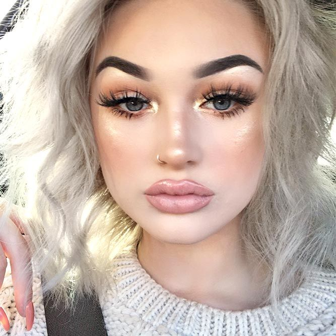 Makeup trends : Best makeup ideas for round faces