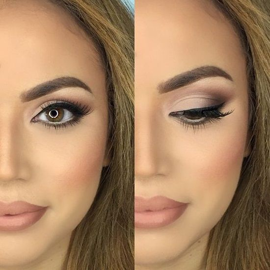 makeup ideas for wedding brown eyes