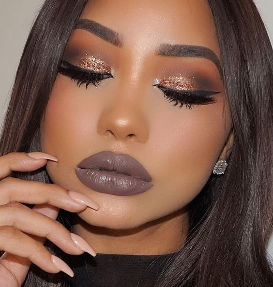 prom makeup ideas for brown skin