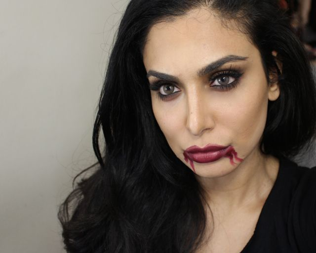 vampire makeup for easy