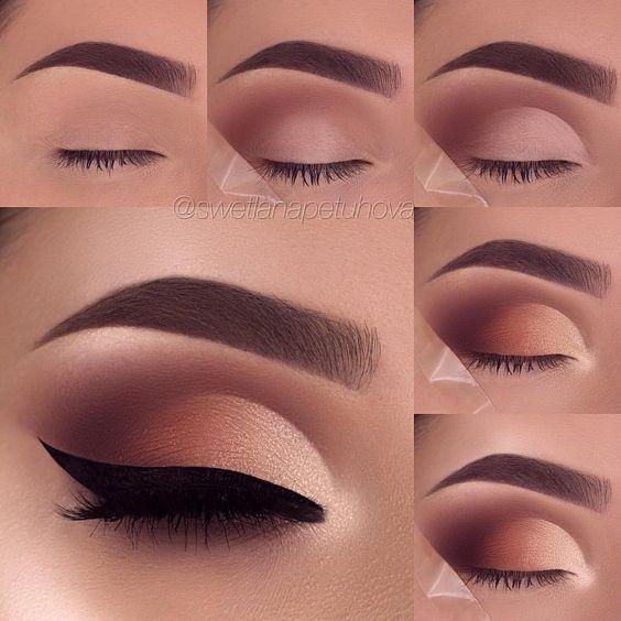 easy makeup eyeshadow for beginners