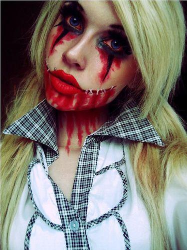 school girl makeup ideas halloween