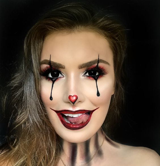 Collection : 23 Best cute easy makeup looks for halloween