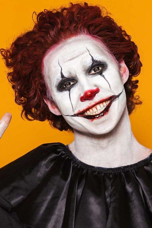 scary makeup ideas male