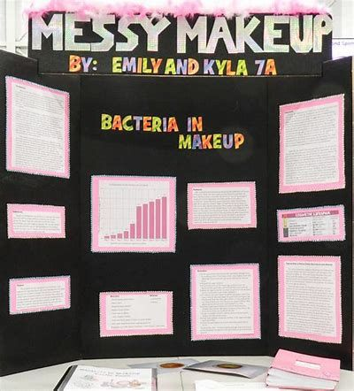 science project ideas makeup