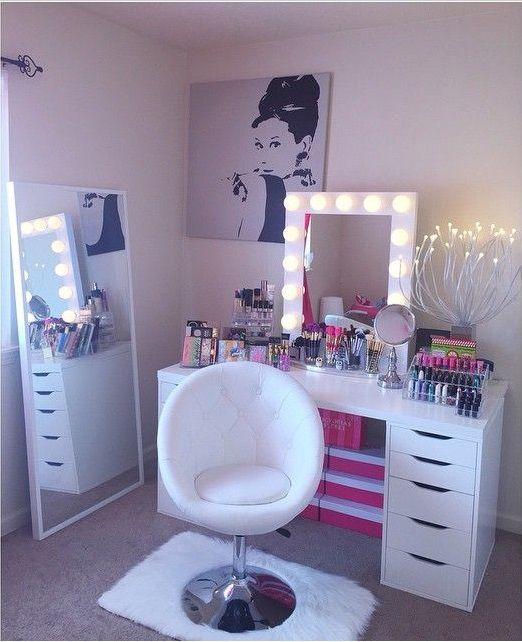 Ideas : 23 Best makeup room ideas pinterest