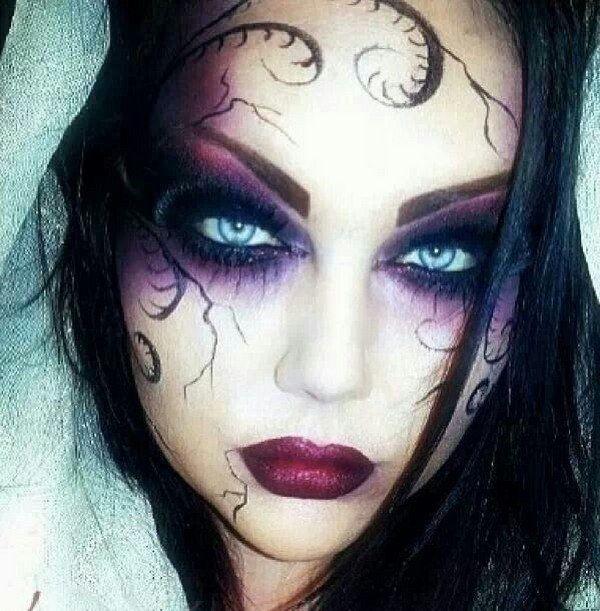 Makeup trends : 23 Best makeup ideas for halloween witch