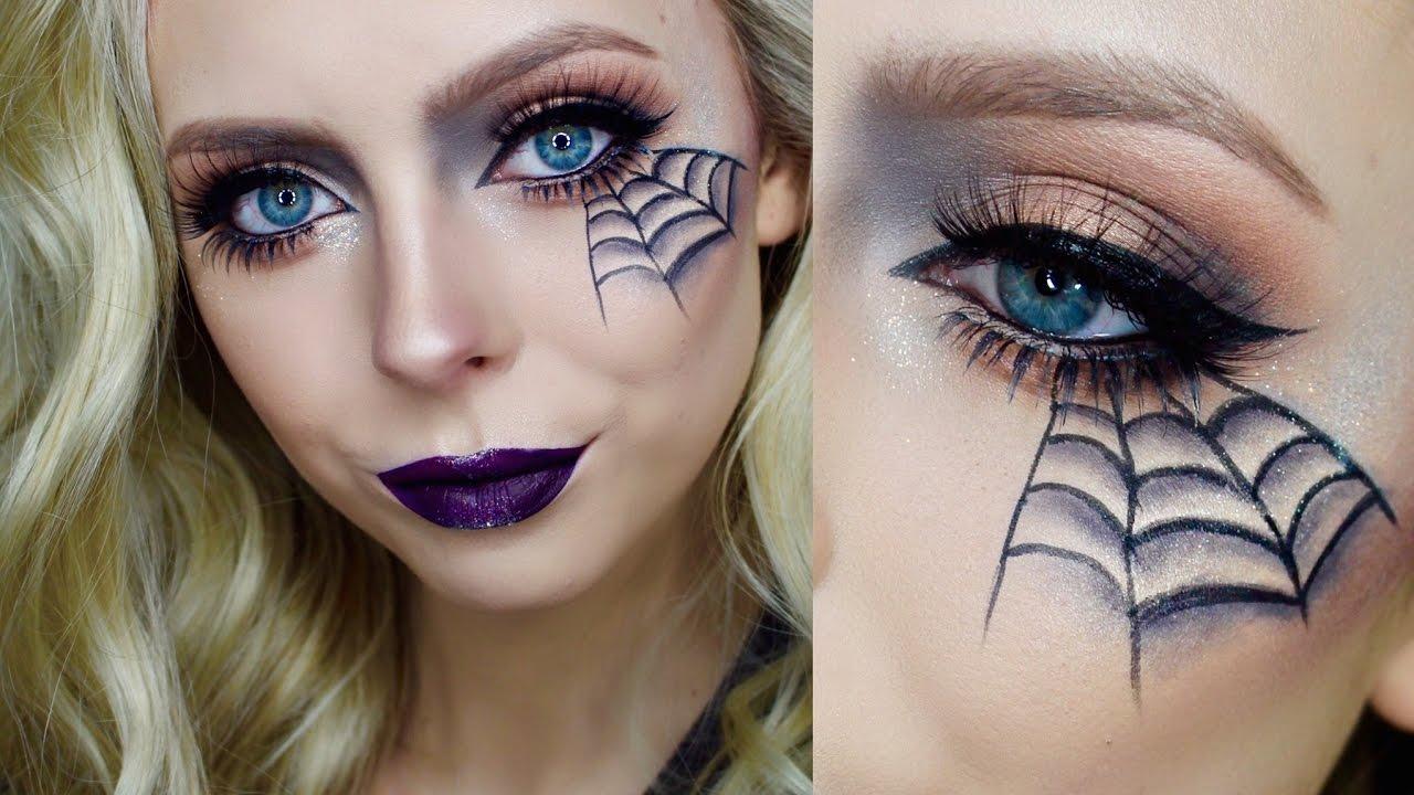 easy face makeup ideas for halloween