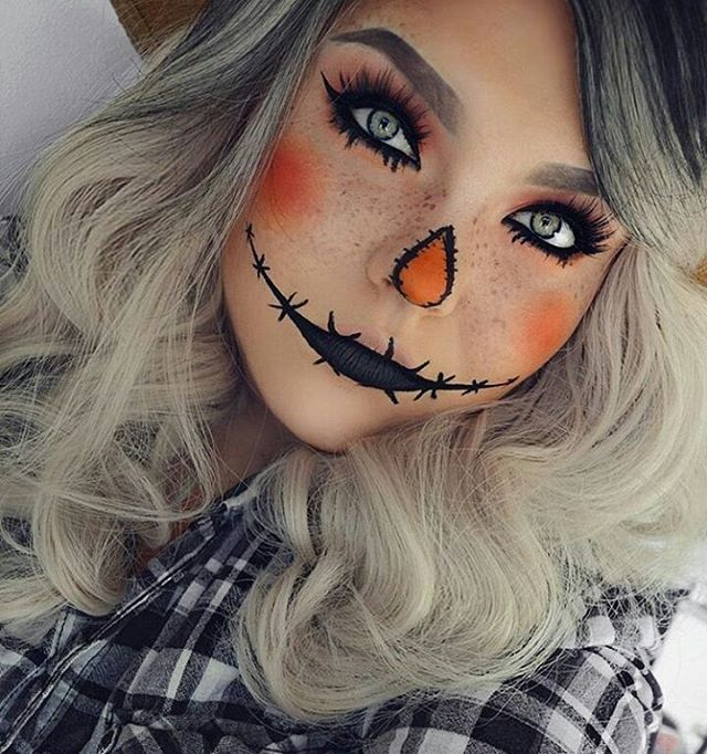 easy makeup ideas for halloween for beginners