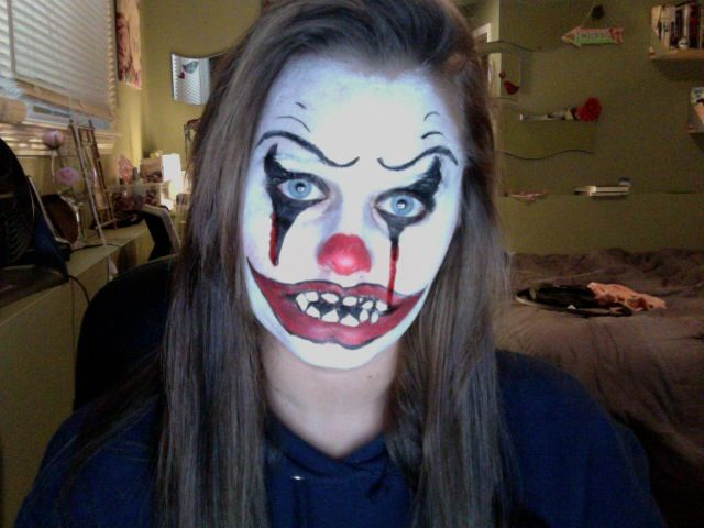 horror clown makeup ideas