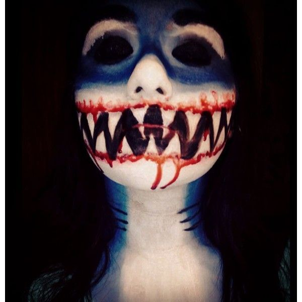 shark halloween makeup ideas