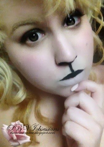 Makeup trends : Best sheep costume makeup ideas