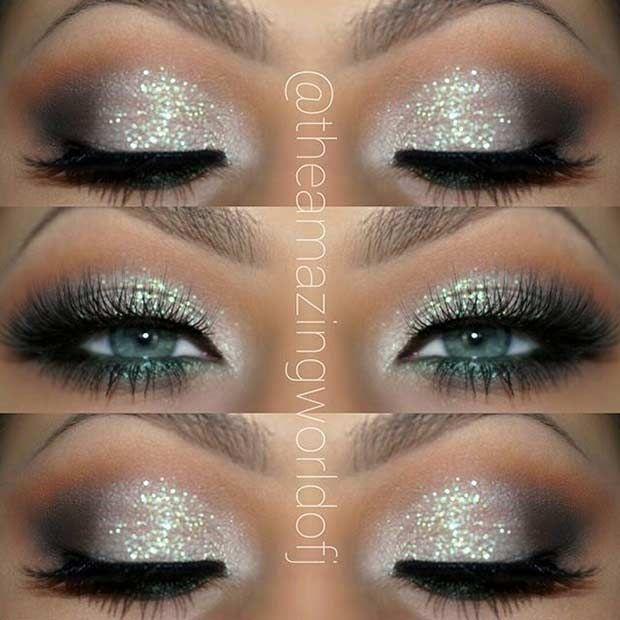 Makeup trends : Best homecoming makeup ideas for blue dress