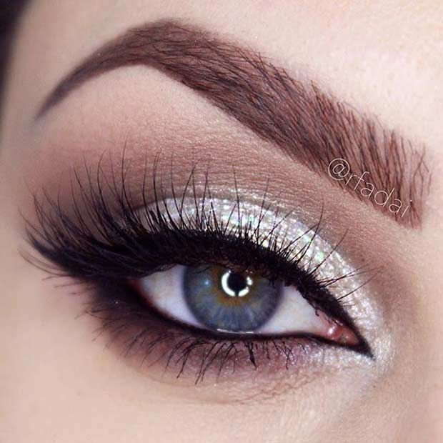 Trends : Best prom makeup ideas for blue eyes