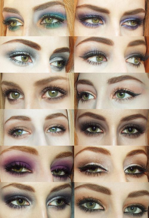 makeup ideas for blue eyes and red hair