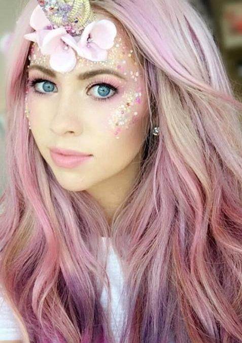 Trends : 22 Best unicorn face makeup ideas