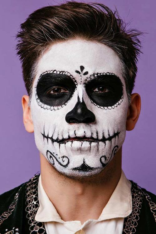simple halloween makeup ideas for guys