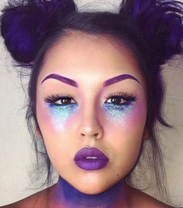 ideas for alien makeup