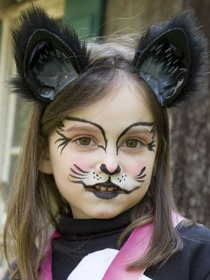 Makeup trends : 17+ Best black cat face makeup ideas