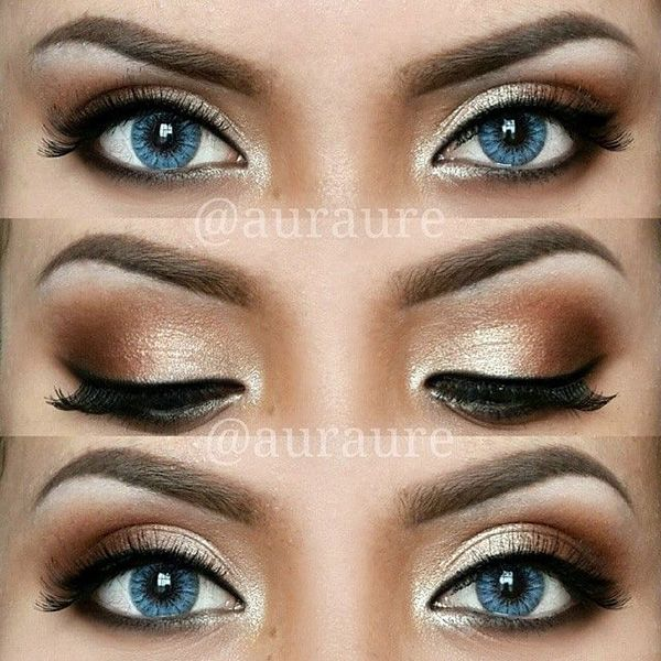 Ideas : Best natural eyeshadow looks for blue eyes
