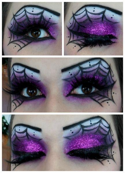 cool eye makeup ideas for halloween
