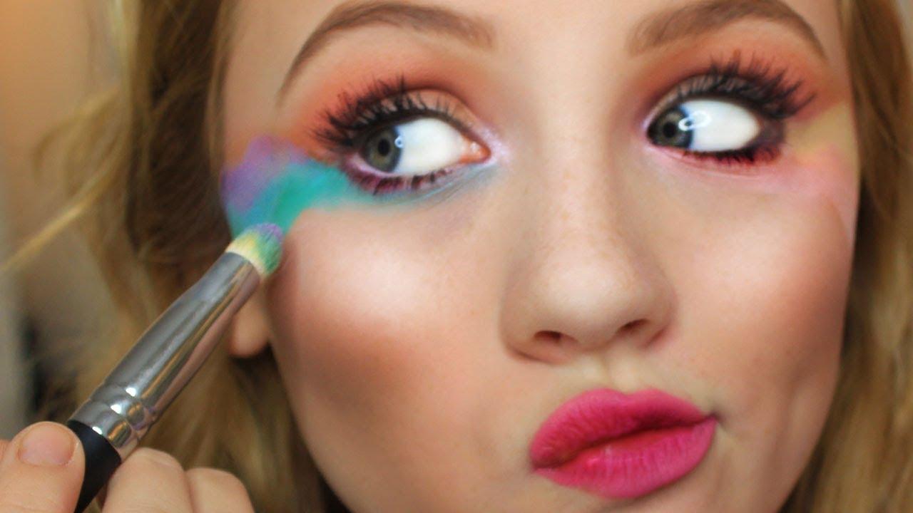 beginner unicorn makeup easy