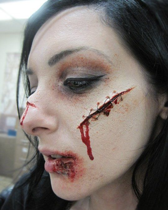 Makeup trends : Best sfx makeup ideas scars
