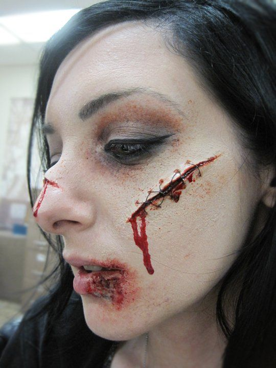 sfx makeup ideas scars