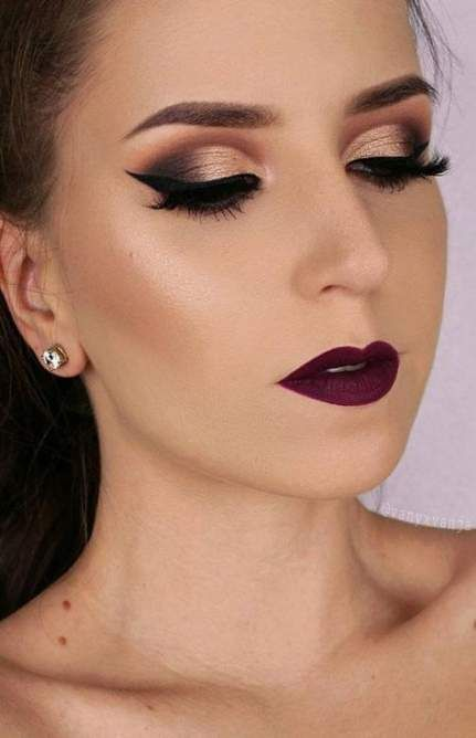 Ideas : 19 Best makeup ideas for blue eyes and brown hair