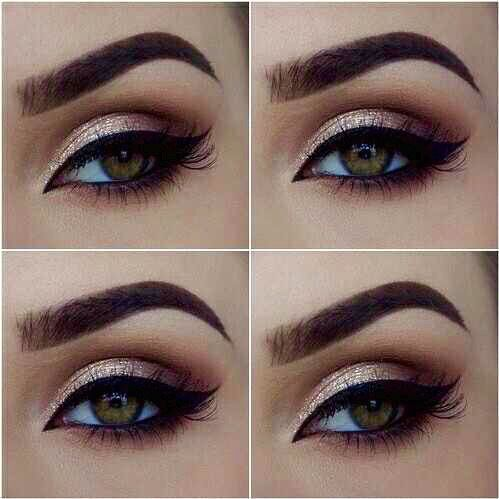 Makeup inspiration : Best wedding makeup ideas for hazel eyes