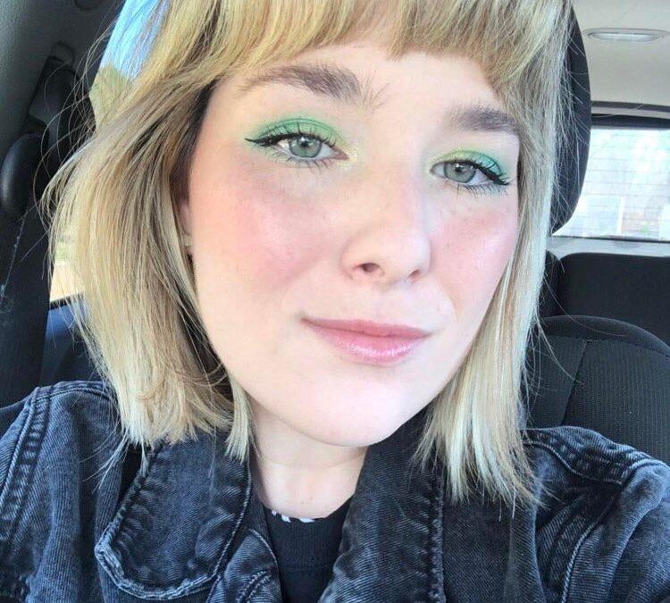 A little green goes a long way :)