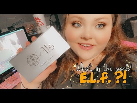 Create my Chipotle order with my new ELF makeup ✨